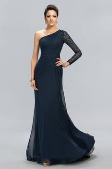 Koronka Długość do podłogi Płaszcz Elegancki Sukienka wieczorowe
