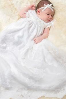 Imperium talia Kwiaty Księżniczka Tani Długi Sukienka do chrztu