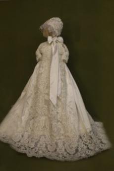 Wysokie pokryte Klejnot Chybienia Lato Formalny Sukienka do chrztu