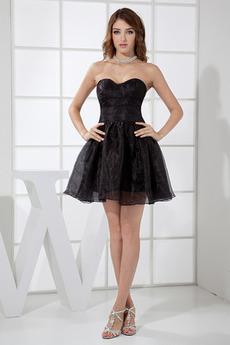 Bez pleców Nieformalne Krótki Naturalne talii Sukienka na studniówkę