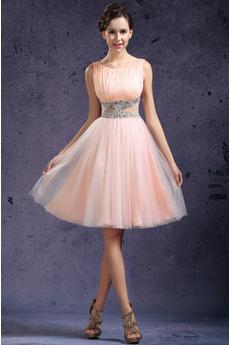Romantyczny Nanoszone Latem Naturalny talia Sukienka na studniówkę