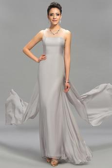 Naturalne talii Szyfon Linia A Chybienia Sukienka wieczorowe