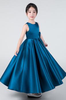 Formalny Bez rękawów Linia A Nanoszone Wydajność Dzieci sukienka