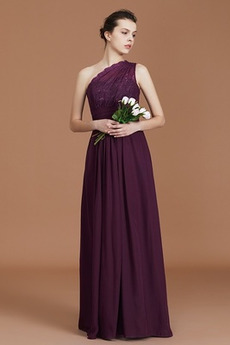 Latem Sweep pociągu Elegancki Połowy pleców Sukienka dla Druhen