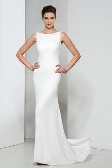 Syrena Pokaż Naturalne talii Bez pleców Długi Sukienka wieczorowe