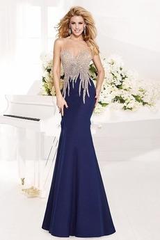 Syrena Brak talii Efektowne Średni Frezowanie Sukienka wieczorowe
