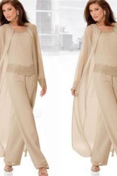 Długi rękaw Elegancki Odwrócony trójkąt Spódnica matka garnitury
