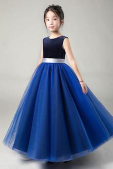 Łuk Elegancki Akcentowane łuk Dziurka Klejnot Dzieci sukienka