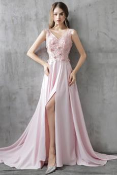 Sznurowane Aplikacje Chybienia Rozeta akcentowane Sukienka na studniówkę