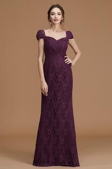 Na suwak Rosy ramię Elegancki Koronki nakładki Sukienka dla Druhen