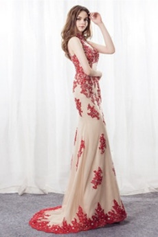 fcae921be2 Kup rabat Czerwone sukienki wieczorowe z sklepu internetowego ...