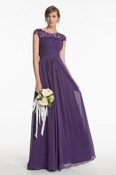 Na suwak Naturalne talii Frezowanie Harmonijkowe gorset Sukienka dla Druhen