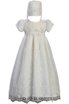Czapka Mały Lato Klejnot Długi Koronka Księżniczka Sukienka do chrztu