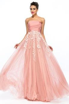 Elegancki Naturalne talii Bezszelestnie Sukienka na studniówkę