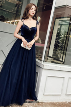 Długość do podłogi Średni Elegancki Sznurowane Sukienka wieczorowe