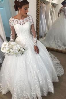 Aula Keyhole z powrotem Linia A Nasuwki złudzenia Sukienka ślubne