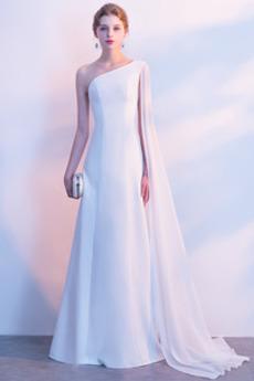 Panienki Szyfon Przyjęcie Naturalne talii Sukienka wieczorowe