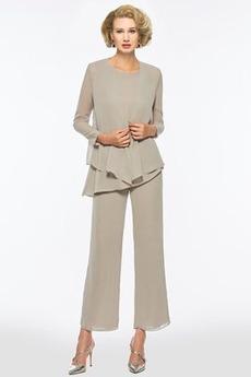 Nanoszone Klejnot Średni Z spodnie Koszulka rękaw Sukienka matki