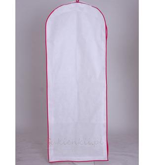 Biały duża suknia wieczorowa suknia ślubna z długą okrywą - Strona 1