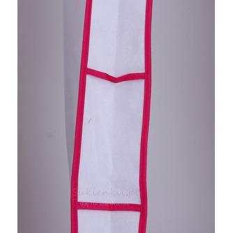 Biały duża suknia wieczorowa suknia ślubna z długą okrywą - Strona 2