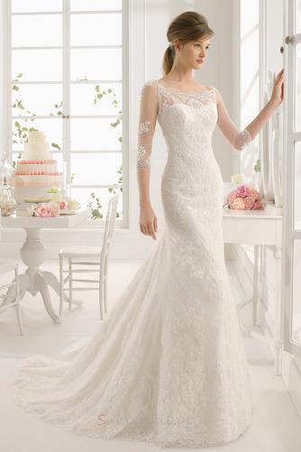 Płaszcz Nasuwki złudzenia Średni Koronka Długi Sukienka ślubne - Strona 1