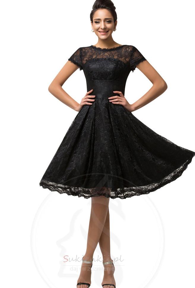 Bankiet Linia A Bezszelestnie Krótki rękaw Sukienka